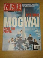 NME 2001 MAY 5 MOGWAI REM COLDPLAT AIR TOOL TRAVIS
