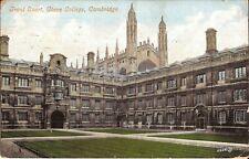 Cambridge, UNITED KINGDOM - Front Court, Clare College - ARCHITECTURE - 1906