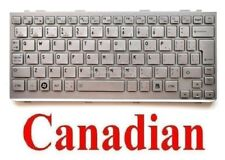 Keyboard for Toshiba Mini NB300 NB305 - Silver - CA NSK-TJ22M K000090500