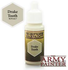 THE Army Painter WP1417 Acrilico Warpaint Drake dente 18ml BOTTIGLIA 1st POST