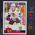 TYLER MOTTE RC 2016/17 O-Pee-Chee Marquee ROOKIE #671 Chicago Blackhawks
