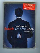 DVD (NEW) PAUL McCARTNEY BACK IN THE U.S.