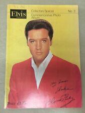ELVIS Monthly Collectors Special Commemorative Photo Album No 3 1983 PRESLEY