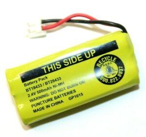 Battery Pack BT18433 / BT28433 2.4V 500mAh Ni-MH for Vtech Cordless Phone