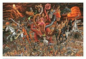 Apocalypse Poster Poster Print by Tom Masse, 32x22