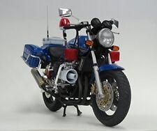 Honda CB400 SUPER FOUR Osaka prefectural police Sky Blue Squad Plastic Model Kit