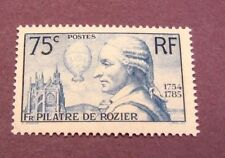 France Stamp Scott# 308 Rozier and his Balloon 1936 Mnh C220