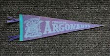 VINTAGE TORONTO ARGONAUTS FELT PENNANT circa 1950's 21 inches in length