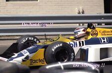 Nelson Piquet Williams FW11B Detroit Grand Prix 1987 fotografía 3