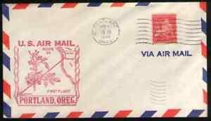 US. C38.  Portland, OR to Honolulu, HI.  Air First Flight.  Dec, 10. 1948