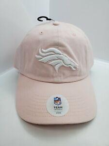 Denver Broncos NFL Headwear Kids Light Pink Strapback Hat Cap New