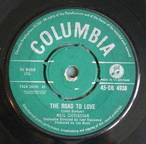 "NEIL CHRISTIAN The Road To Love / Big Beat Drum UK 7"" Joe Meek RGM 45-DB 4938 62"