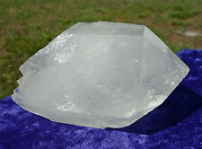 ET Clear Quartz Point Natural EXTRA-TERRESTRIAL Crystal Double Terminated