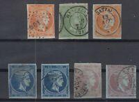 K3706/ GREECE – HERMES – 1871 / 1876 USED CLASSIC LOT – CV 325 $