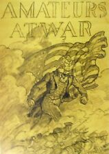 Vintage Art N C Wyeth Amateurs at War The American Soldier in Action 1943 US