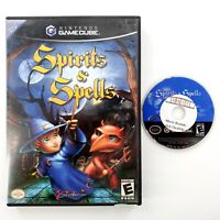 Spirits & Spells (Nintendo GameCube, 2003) No Manual Tested & Works