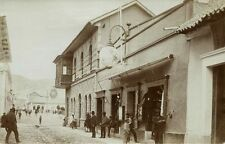 bolivia, La Tienda Editor El Globo, Publisher (1899) RPPC