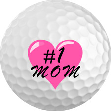 "Mother's Day Gift ""#1 Mom"" Golf Ball 3 Pack"