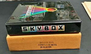 1991-92 Skybox Basketball Series 1 Complete Set In Skybox Binder Michael Jordan