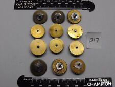 Orologio da taschino movimento parti FUSEE Coni & Barili con le molle in loro articolo D17
