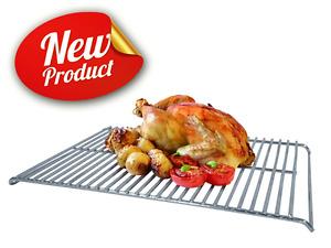 Commercial Stainless Steel Oven BBQ Roasting Trivet Grilling Rack Cake Cooler
