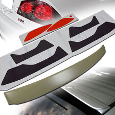 FOR HONDA CIVIC 8th 8 JDM ROOF SPOILER + Headlight & Taillight Stickers