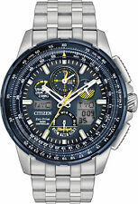 Citizen JY8058-50L Eco-Drive Blue Angels Skyhawk A-T Chronograph Watch