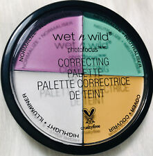 💋 Wet N Wild Coverall Correcting Concealer Highlight Palette #349 Color Wheel
