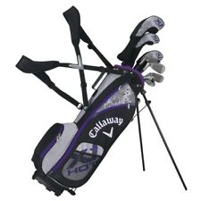 CALLAWAY GOLF XJ JUNIOR HOT 8 PIECE GIRL'S COMPLETE SET w/BAG AGES 5-8 -NEW