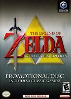 Nintendo Gamecube The Legend Of Zelda Collector's Edition Promotional Disc T797