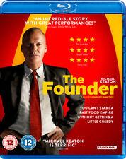 The Founder Blu-Ray (2017) Michael Keaton, Hancock (DIR) cert 12 ***NEW***
