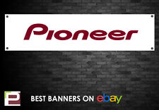 Pioneer Banner, per studio, garage, negozi, club, Turn Table etc, DJ