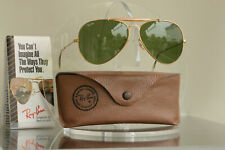 Excellent: Bausch & Lomb Ray Ban Outdoorsman 62[]14 Crystal Green, BL Vintage