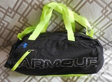 UNDER ARMOUR UA Adaptable Duffle Bag Color Black/High Vis Yellow NEW