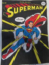 SUPERMAN XL T-SHIRT Golden Age COMIC BOOK COVER (#32) NEW unworn DC COMICS 1988