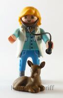 Playmobil Veterinarian with Medical Tool Baby Fawn Mystery Series 13 9333 NEW