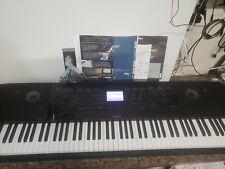 Yamaha Dgx-660 Portable Grand Digital Piano with custom stand WORKS GREAT