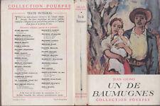 C1 GIONO Un de Baumugnes RELIE Provence JAQUETTE COULEURS Angele