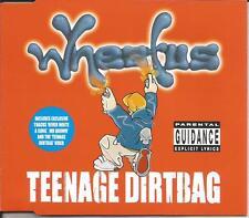 WHEATUS Teenage Dirtbag w/ 2 UNRELEASE & VIDEO Europe CD single SEALED USA seler