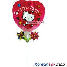 Hello Kitty Balloon w/ Pinwheel Birthday Picnic Party Supplies - Heart Type