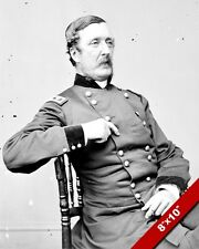 US ARMY GENERAL OFFICR WILLIAM BARRY UNION CIVIL WAR PHOTO REAL CANVASART PRINT