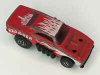 Lesney Red Rider Vintage Toy Car Matchbox Superfast No. 48 Hong Kong 1972 Flames