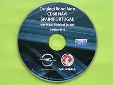 NAVIGATION OPEL CD 60 NAVI CD 80 NAVI SPANIEN PORTUGAL + EU 2014 ANTARA CORSA D