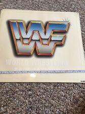 WWF Arcade Graphics Art Vinyl Sticker Decal Logo 31-2307-5 WrestleMania