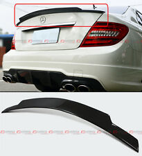 FOR MERCEDES BENZ W204 C250 C300 C63 CARBON FIBER HIGH KICK TRUNK SPOILER WING