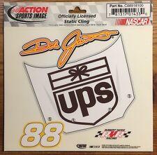 Vtg Action Sports Image NASCAR #88 DALE JARRETT UPS Hood Static Cling RYR NOS