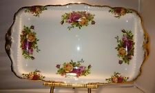 "ROYAL ALBERT ENGLAND ""OLD COUNTRY ROSES"" SANDWICH TRAY 1962"