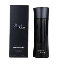 Armani Code By Giorgio Armani Men 6.7 OZ 200 ML Eau De Toilette Spray Box Sealed
