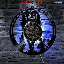 Cavalier King Charles Spaniel Hond LED Vinyl Record Night Lamp Wall Clock 12''