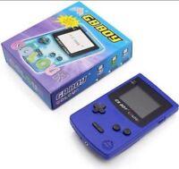 GB Boy Colour - Backlit Nintendo Game Boy Color Clone Console NEW Blue / Purple